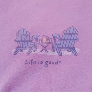 Life Is Good Tee XL